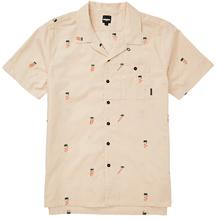 Camisa Manga Corta Hombre Busy Palms Lahan
