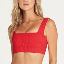 Bikini Top Mujer Sunny Rib Sqre Neck